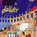 Обложка альбома комиксов Астерикс — гладиатор.