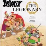 Обложка альбома Астерикс — легионер